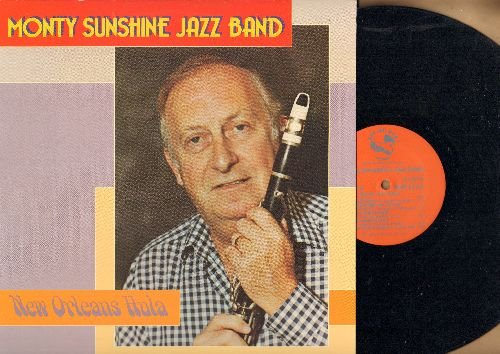 Monty Sunshne Jazz Band - New orleans Hula: You Tell Me Your Dream, Bugle Boy March, Wild Cat Blues, Beale Street Mama (vinyl LP record) - NM9/NM9 - LP Records
