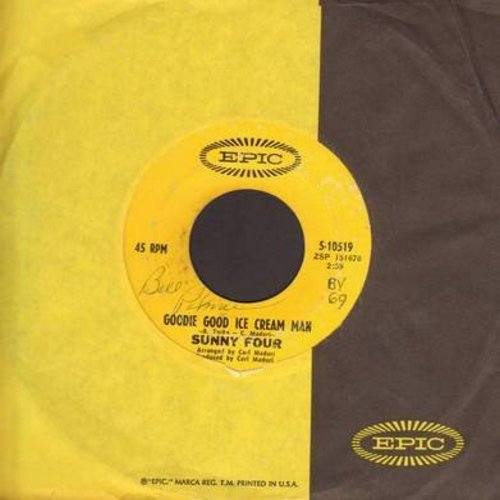 Sunny Four - Rags To Riches/Not Even Judgement Day (MINT condition) - EX8/ - 45 rpm Records