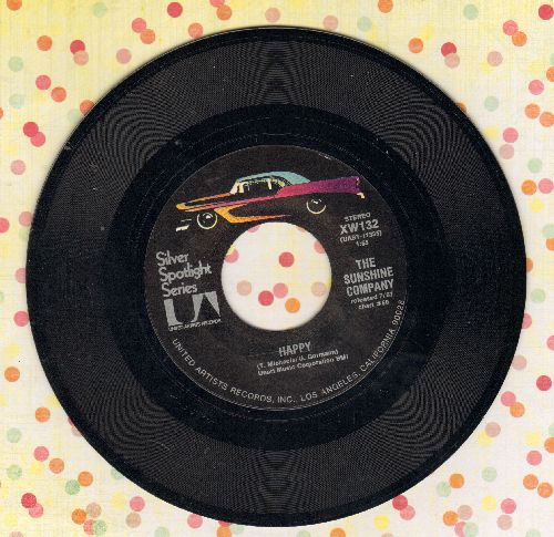 Sunshine Company - Happy/Back On The Street Again (double-hit re-issue) - M10/ - 45 rpm Records