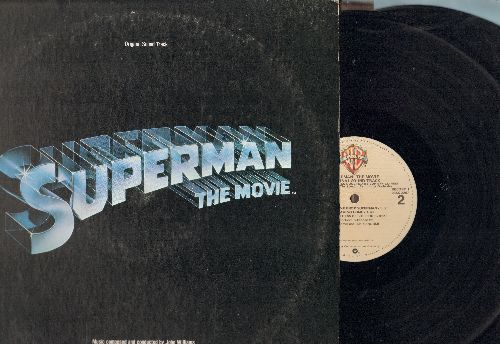 Williams, John - Superman - Original Motion Picture Sound Track, Score composed by John Williams (2 vinyl STEREO LP records) - NM9/VG7 - LP Records