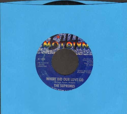 Supremes - Where Did Our Love Go/He Means The World To Me (wol) - VG6/ - 45 rpm Records