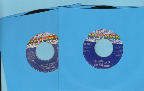 Supremes - 2 for 1 Special: The Happening/Nothing But Heartaches (2 vintage first issue 45rpm records for the price of 1!) - EX8/ - 45 rpm Records