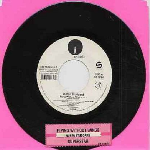 Studdard, Ruben - Flying Without Wings/Superstar (with juke box label) (Ruben Studdard was the WINNER on American Idol TV Singing Competition) - NM9/ - 45 rpm Records
