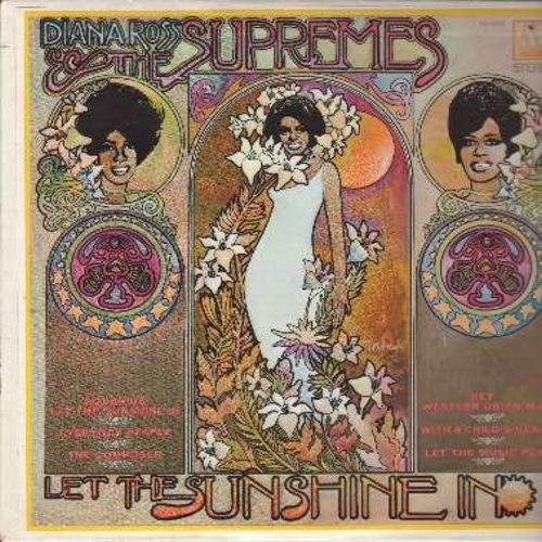 Supremes - Let The Sunshine In: No Matter What Sign You Are, Aquarius/Let The Sunshine In, Will This Be The Day, Hey Western Union Man, What Becomes Of The Broken Hearted (Vinyl STEREO LP record) (bb) - EX8/EX8 - LP Records