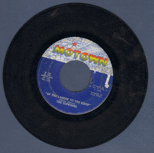 Supremes - Up The Ladder To The Roof/Bill, When Are You Coming Home  - VG7/ - 45 rpm Records