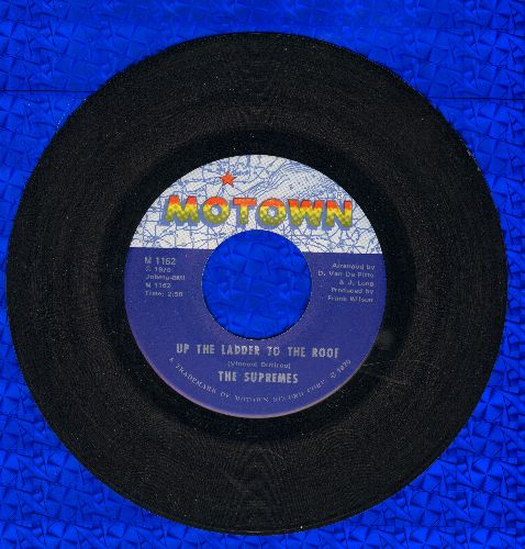 Supremes - Up The Ladder To The Roof/Bill, When Are You Coming Home  - NM9/ - 45 rpm Records