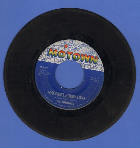Supremes - You Can't Hurry Love/Put Yourself In My Place  - VG7/ - 45 rpm Records