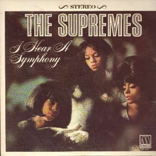Supremes - I Hear A Symphony: Yesterday, Unchained Melody, A Lover's Concerto, Wonderful Wonderful (Vinyl STEREO LP record, 1980s issue) - NM9/NM9 - LP Records