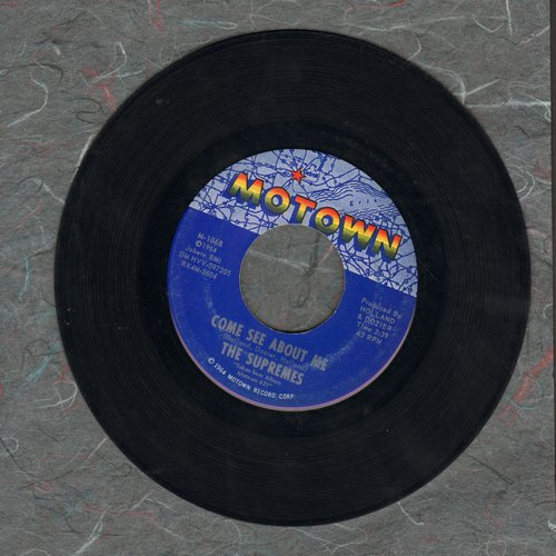 Supremes - Come See About Me/Always In My Heart  - VG7/ - 45 rpm Records