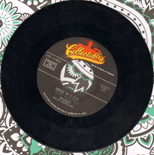 Safaris - Image Of A Girl/Memories Of You (double-hit re-issue) - NM9/ - 45 rpm Records