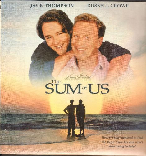 The Sum Of Us - The Sum Of Us - SEALED Laser Disc of the Gay-Themed Classic starring Pre-Academy Award Winning Russel Crowe. (This is a LASER DISC, not any other kind of media!) - SEALED/SEALED - LaserDiscs