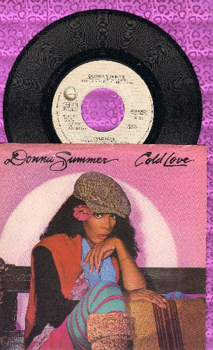 Summer, Donna - Could This Be Magic/Whispering Waves (with picture sleeve) - NM9/EX8 - 45 rpm Records
