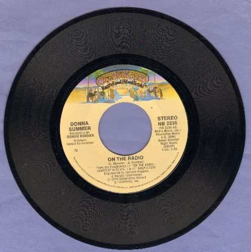 Summer, Donna - On The Radio/There Will Always Be A You  - EX8/ - 45 rpm Records