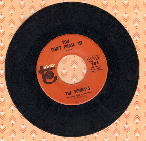 Sunrays - Andrea/You Don't Phase Me  - VG7/ - 45 rpm Records
