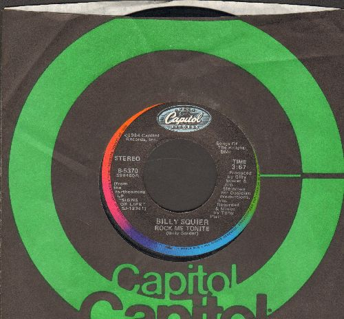 Squier, Billy - Rock Me Tonight/Can't Get Next To You (with Capitol company sleeve) - NM9/ - 45 rpm Records