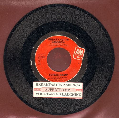 Supertramp - Breakfast in America/You Started Laughing (with juke box label) - NM9/ - 45 rpm Records