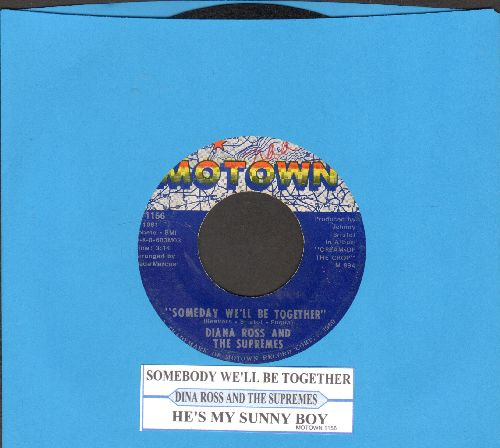 Supremes - Someday We'll Be Together/He's My Sunny Boy (with juke box label) (bb) - VG7/ - 45 rpm Records