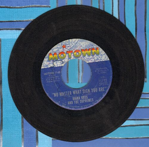 Supremes - No Matter What Sign You Are/The Young Folks - VG7/ - 45 rpm Records