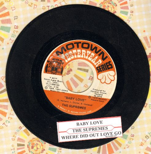 Supremes - Baby Love/Ask Any Girl  - EX8/ - 45 rpm Records