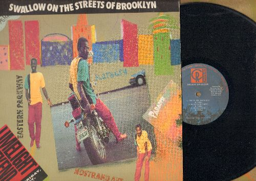 Mighty Swallow - Swallow On The Streets Of Brooklyn: Fire In The Back Seat, Pepper Sauce, Rev Jam (vinyl LP record) - NM9/EX8 - LP Records