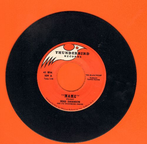 Swanson, Brad - Mame/Yellow Bird  - EX8/ - 45 rpm Records