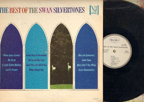 Swan Silvertones - Best Of: My Rock, Jesus Remembers, The Lord's Prayer, Great Day In December, He Saved My Soul (vinyl MONO LP record, DJ advance pressing) - VG7/VG7 - LP Records