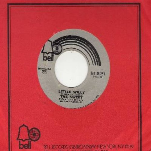 Sweet - Little Willy/Man From Mecca (with Bell company sleeve) - VG7/ - 45 rpm Records