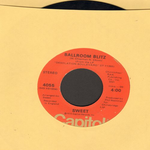 Sweet - Ballroom Blitz/Restless - VG7/ - 45 rpm Records
