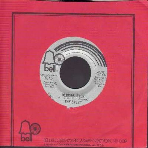 Sweet - Block Buster/Need A Lot Of Lovin' (with Bell company sleeve) - VG7/ - 45 rpm Records