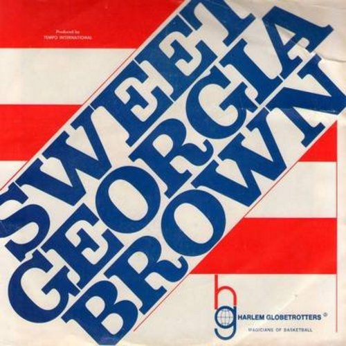 Brother Bones - Sweet Georgia Brown (The Harlem Globetrotters Theme)/Poor Butterfly (with picture sleeve) - M10/EX8 - 45 rpm Records
