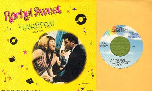 Sweet, Rachel - Hairspray/Hairspray (Instrumental) (with picture sleeve) - M10/NM9 - 45 rpm Records