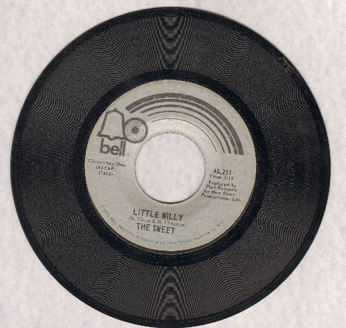 Sweet - Little Willy/Man From Mecca - EX8/ - 45 rpm Records
