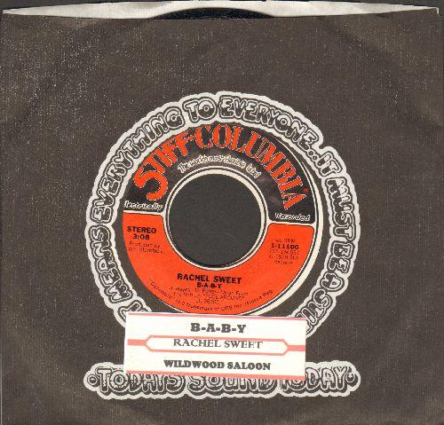 Sweet, Rachel - B-A-B-Y/Wildwood Saloon (with juke box label and company sleeve) - NM9/ - 45 rpm Records