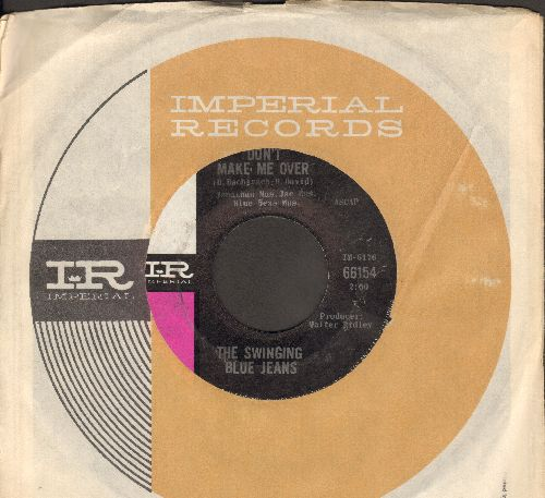 Swinging Blue Jeans - Don't Make Me Over/What Can I Do Today (with Imperial company sleeve) - NM9/ - 45 rpm Records