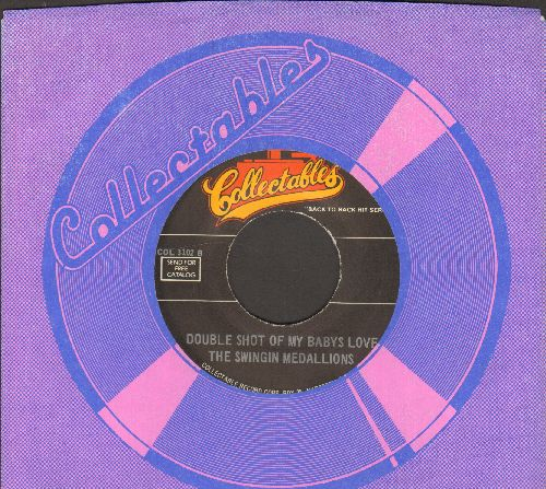 Swingin' Medallions - Double Shot (Of My Baby's Love)/Baby Talk (by Jan & Dean on flip-side) (re-issue with Collectables company sleeve) - NM9/ - 45 rpm Records