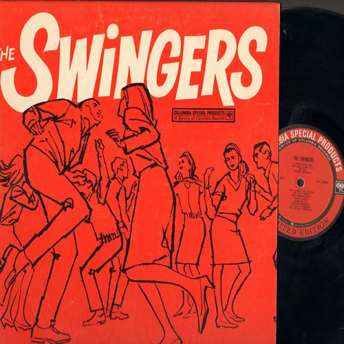 Clark, Dave Five, Aretha Franklin, Rip Chords, Major Lance, others - The Swingers: I Cried Over You, My Guy, The Monkey Time, Surfin's Here To Stay (Vinyl LP record, Columbia Special Products Pressing) - EX8/EX8 - LP Records