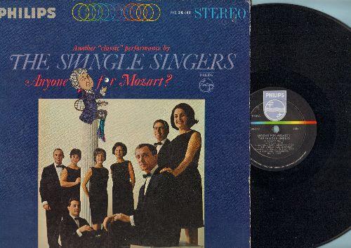 Swingle Singers - Anyone For Mozart?: Sonata No. 15, Allegro from Sonata, Eine kleine Nachtmusik (Vinyl STEREO LP record) - NM9/EX8 - LP Records