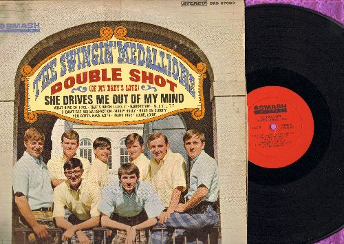 Swingin' Medallions - Double Shot (Of My Baby's Love): She Drives Me Out Of My Mind, What Kind Of Fool, Barefootin', Hang On Sloopy, Wooly Bully, Louie Louie (Vinyl STEREO LP record) - EX8/VG6 - LP Records