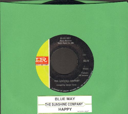 Sunshine Company - Happy/Blue May  (with juke box label) - NM9/ - 45 rpm Records