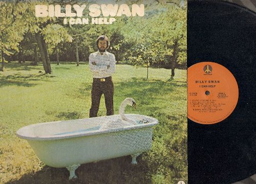 Swan, Billy - I Can Help: Don't Be Cruel (Slow Version), Shake Rattle & Roll, Wedding Bells (Vinyl LP record) - NM9/NM9 - LP Records