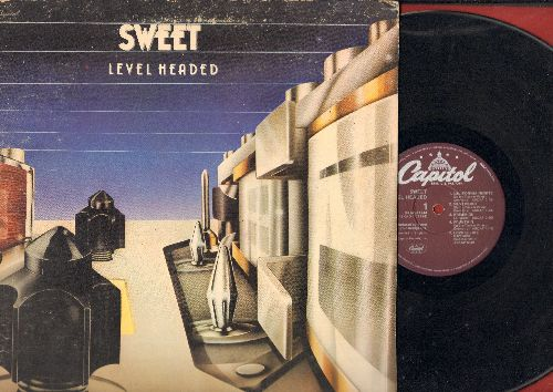 Sweet - Level Headed: California Nights, Love Is Like Oxygen, Strong Love, Anthoem No. I (vinyl LP record, gate-fold cover) - NM9/VG7 - LP Records