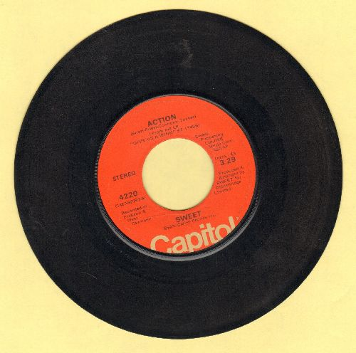 Sweet - Action/Medussa - VG7/ - 45 rpm Records