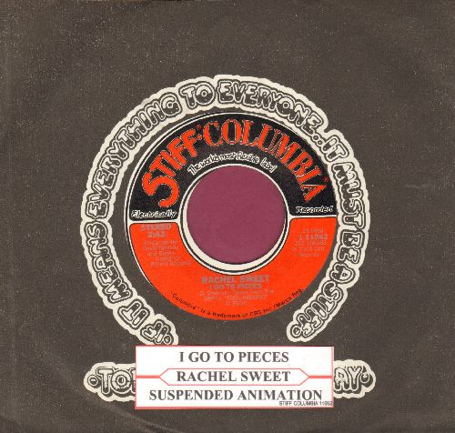 Sweet, Rachel - I Go To Pieces/Suspended Animation (with juke box label and company sleeve) - NM9/ - 45 rpm Records