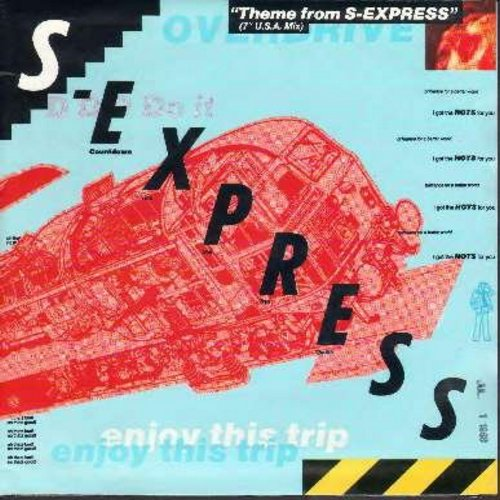 S-Express - Theme From S-Express/The Trip (with picture sleeve) - NM9/NM9 - 45 rpm Records