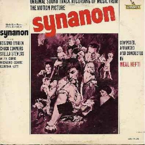Hefti, Neal - Synanon - Original Motion Picture Sound Track, Jazz Score composed and conducted by Neal Hefti (Vinyl MONO LP record) - NM9/VG7 - LP Records