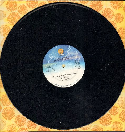Sylvester - You Make Me Feel (Mighty Real) 6:17/Dance (Disco Heat) 8:20 (12 inch vinyl Maxi Single) - NM9/ - Maxi Singles