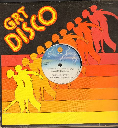 Sylvester - You Make Me Feel Mighty Real (6:17 Extended Disco Version)/Dance (Disco Heat) (8:20 Minutes Extended Disco Version)(12 inch vinyl Maxi Single with GRT Disco cover) - EX8/ - Maxi Singles