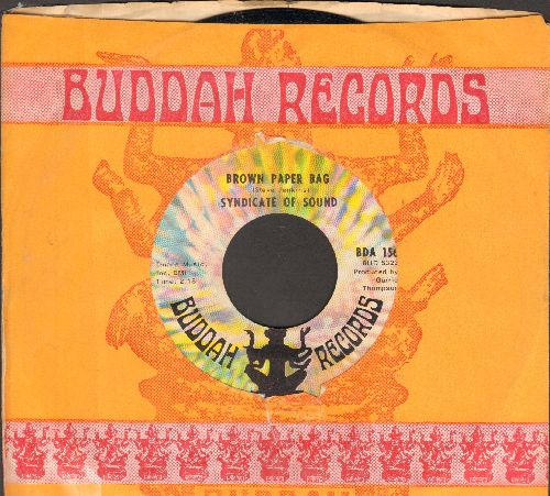 Syndicate Of Sound - Brown Paper Bag/Reverb Beat (with juke box label) - NM9/ - 45 rpm Records