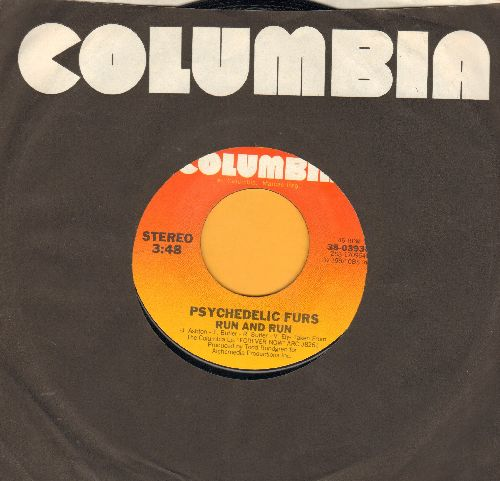 Psychedelic Furs - Run And Run/President Gas (LIVE) (with Columbia company sleeve) - NM9/ - 45 rpm Records