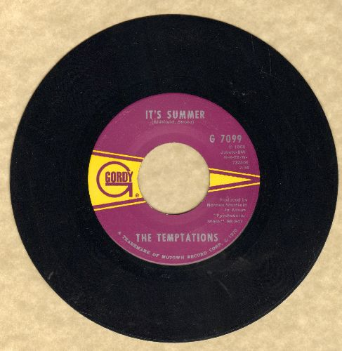 Temptations - It's Summer/I'm The Exception To The Rule (bb) - NM9/ - 45 rpm Records